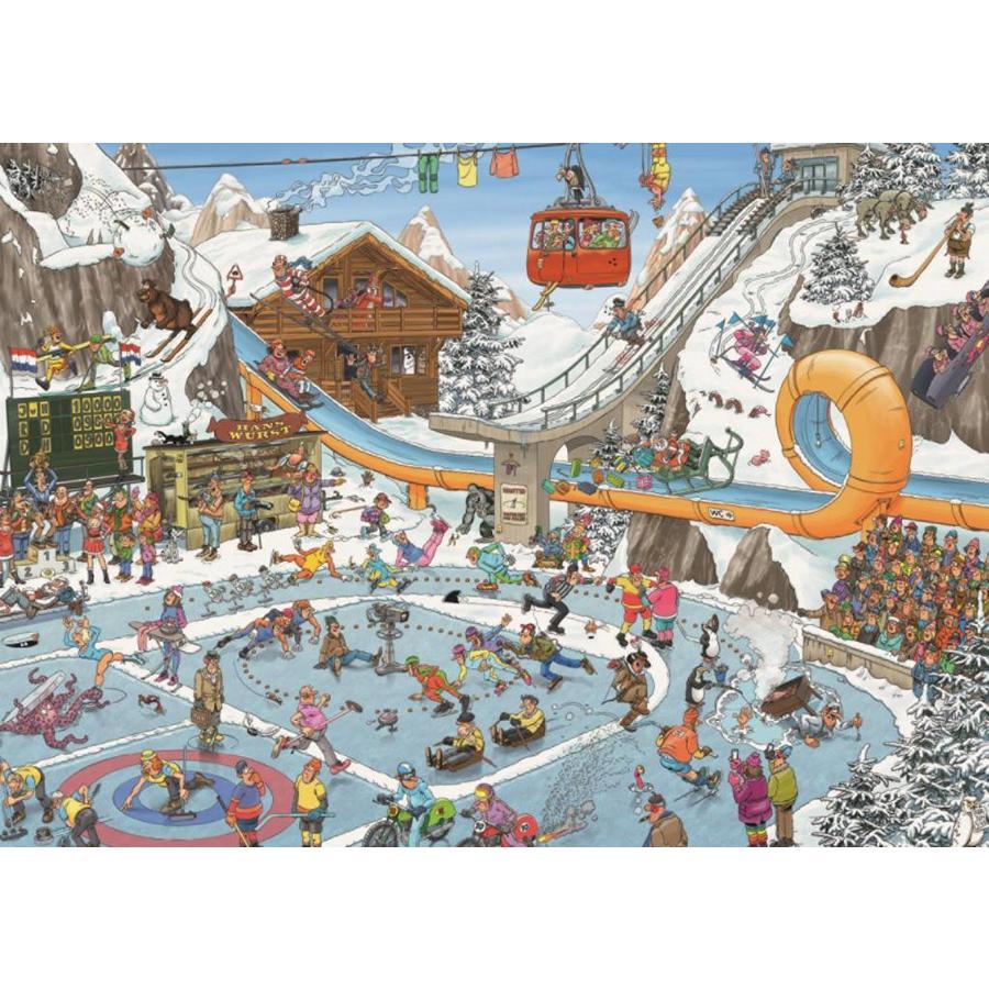 De Winterspelen - JvH - 1000 stukjes-2