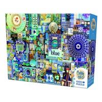 thumb-Bleu - puzzle de 1000 pièces-2