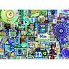 Cobble Hill Bleu - puzzle de 1000 pièces