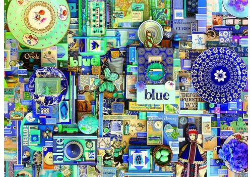 Blauw - 1000 stukjes