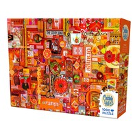 thumb-Oranje - puzzel van 1000 stukjes-2