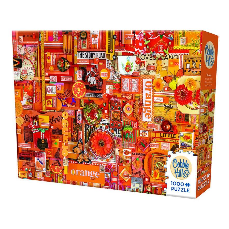 Oranje - puzzel van 1000 stukjes-2