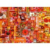 Cobble Hill Oranje - puzzel van 1000 stukjes