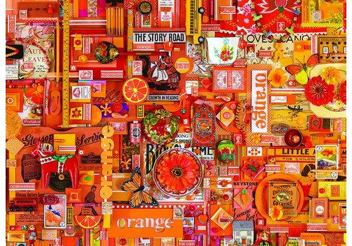 Orange - 1000 pieces