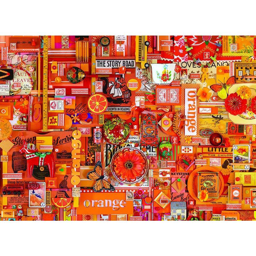 Oranje - puzzel van 1000 stukjes-1