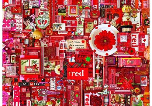 Rood - 1000 stukjes