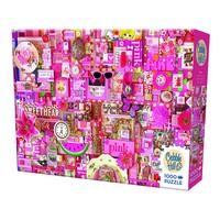 thumb-Roze - puzzel van 1000 stukjes-2