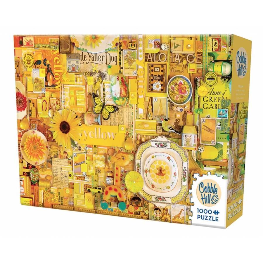 Jaune - puzzle de 1000 pièces-2