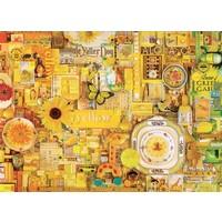 thumb-Jaune - puzzle de 1000 pièces-1