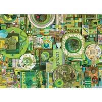 thumb-Groen - puzzel van 1000 stukjes-1