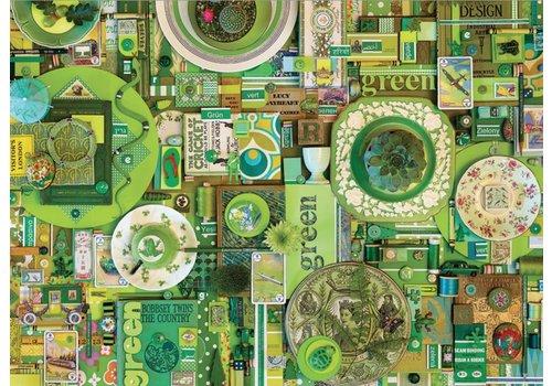 Cobble Hill Groen - 1000 stukjes