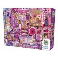 thumb-Paars - puzzel van 1000 stukjes-2