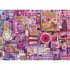 Cobble Hill Paars - puzzel van 1000 stukjes