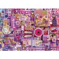 thumb-Paars - puzzel van 1000 stukjes-1