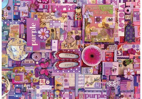 Cobble Hill Violet - 1000 pièces