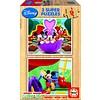 Educa WOOD: Disney Mickey - 2 puzzles x 9 pieces