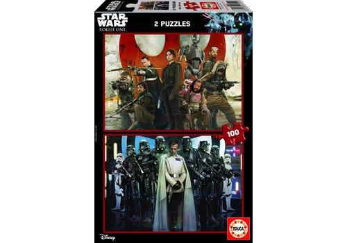 Star Wars - Rogue One - 2 x 100 stukjes