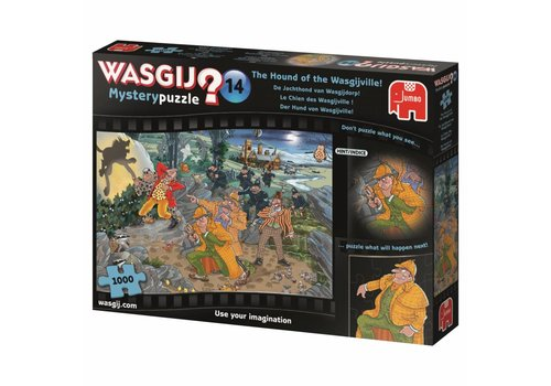 Wasgij Mystery 14 - The Hound -  1000 pieces