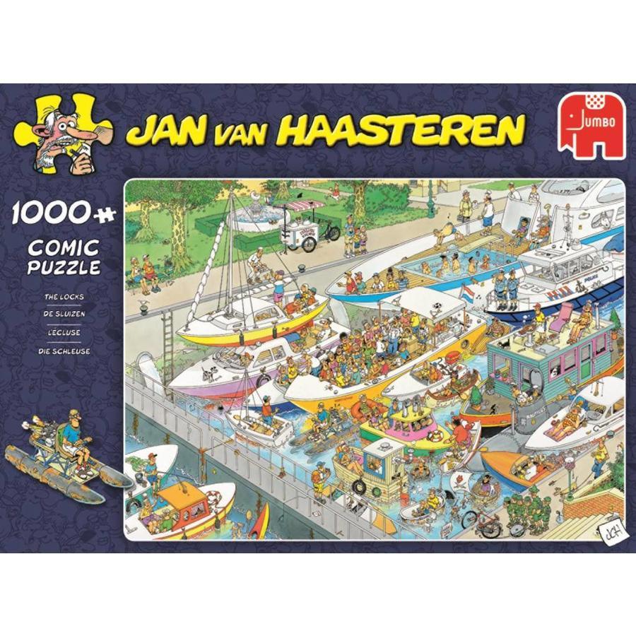 De Sluizen - JvH - puzzel van 1000 stukjes-1