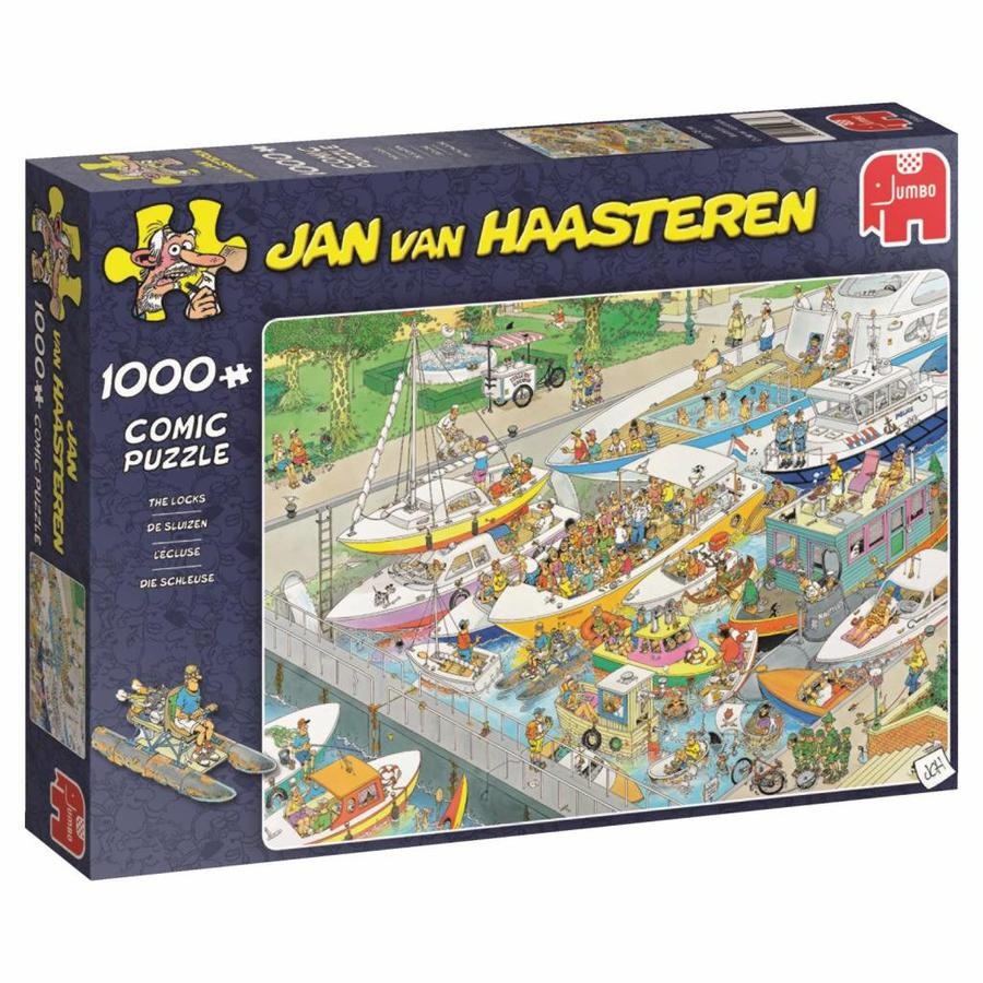 De Sluizen - JvH - puzzel van 1000 stukjes-3