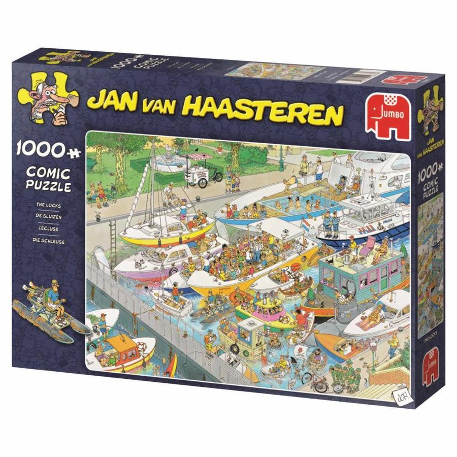 De Sluizen - JvH - puzzel van 1000 stukjes-4