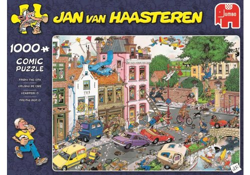 Jumbo Vendredi13 - JvH - 1000 pièces - puzzle