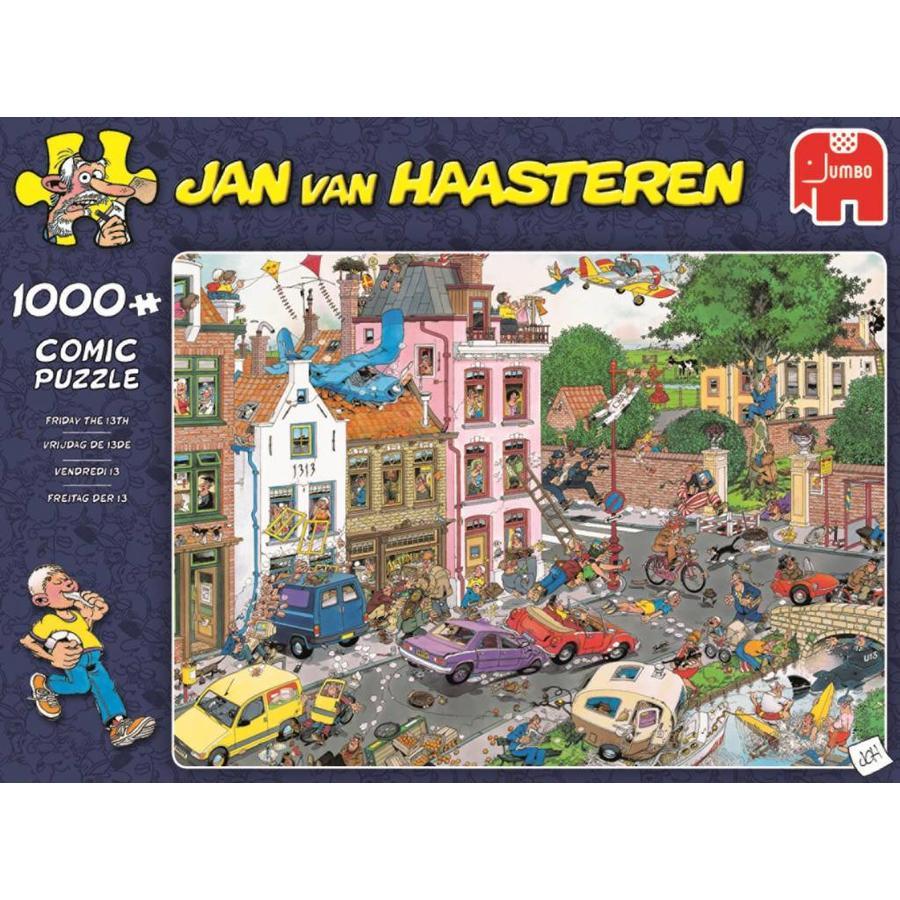 Vrijdag e 13e - JvH - puzzel van 1000 stukjes-1