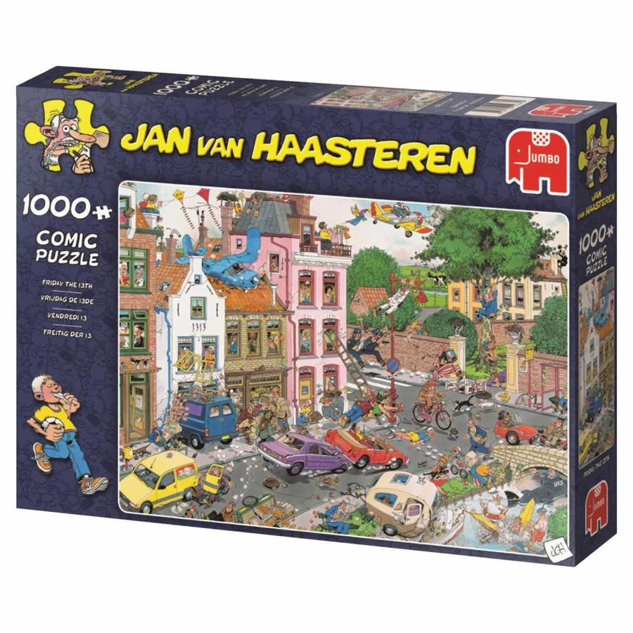 Vrijdag e 13e - JvH - puzzel van 1000 stukjes-4