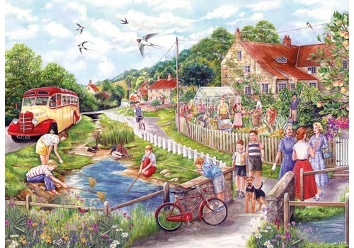Summer by the Stream - puzzle 250 XL pieces