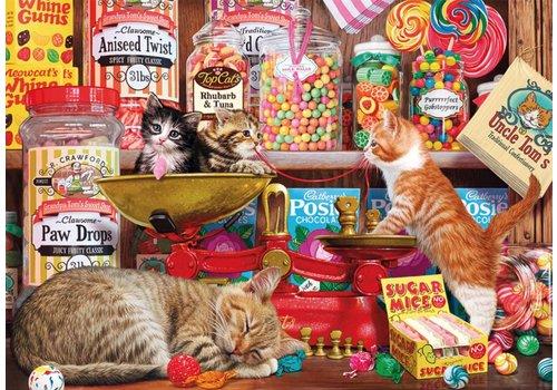 Les chats dans la confiserie - 500 pièces XL