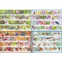 Les saisons - puzzle  de 2000 pièces