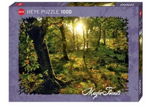 Glanzend - Magische bos - 1000 stukjes