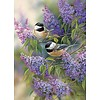 Cobble Hill Les oiseaux en violet - puzzle de 1000 pièces