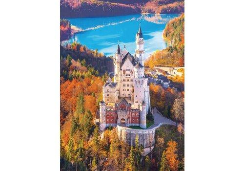 Het kasteel Neuschwanstein  - 1000 stukjes