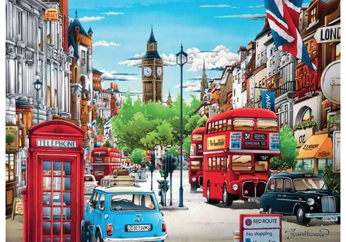 London - puzzle of 1000 pieces