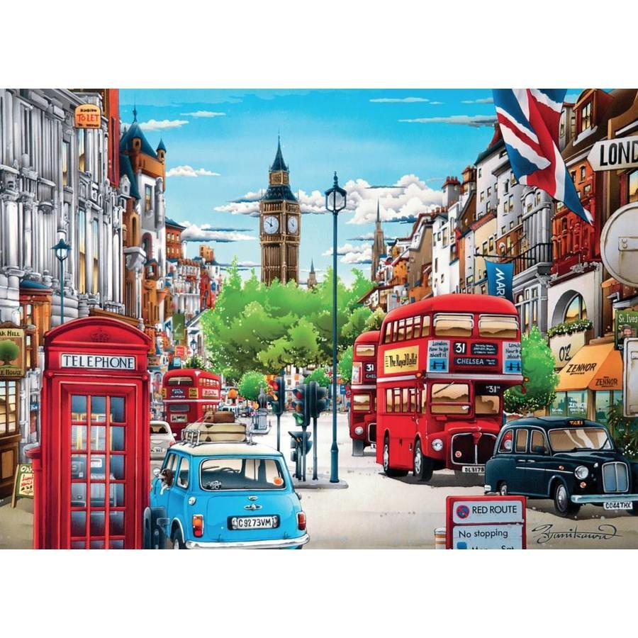Londen  - puzzel van 1000 stukjes-1