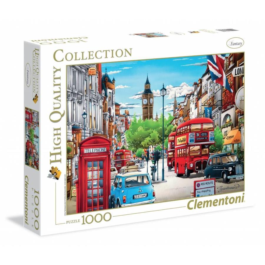 Londen  - puzzel van 1000 stukjes-2