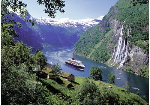 Noorse fjord - 1000 stukjes