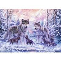 thumb-Les loups de l'Arctique - 1000 pièces-1