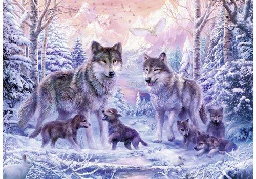 Arctische wolven - 1000 stukjes