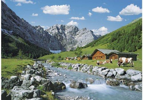 Karwendelgebergte, Oostenrijk - 1000 stukjes