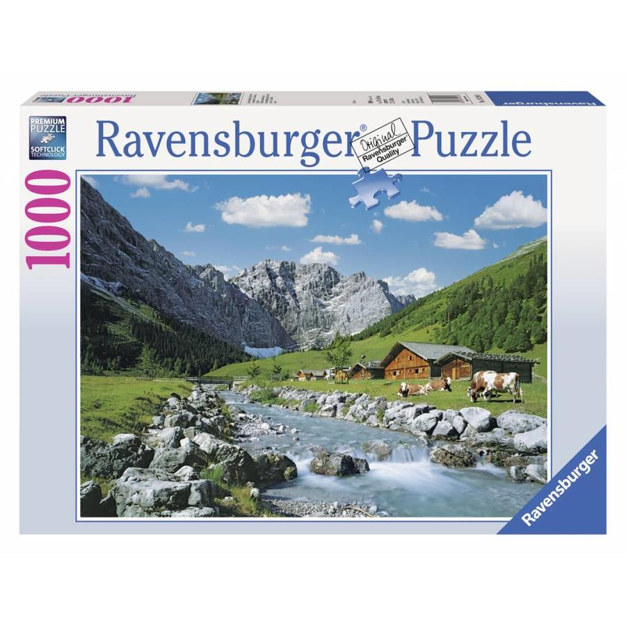 Karwendelgebergte, Oostenrijk - 1000 stukjes-2