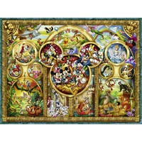 thumb-The most beautiful Disney themes - 1000 pieces-1