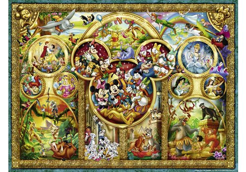 The most beautiful Disney themes - 1000 pieces