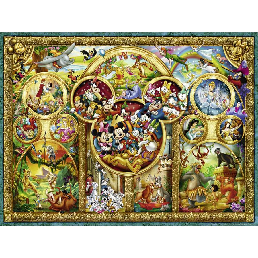 The most beautiful Disney themes - 1000 pieces-1