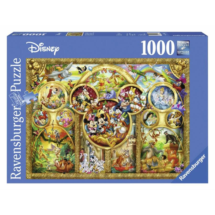 The most beautiful Disney themes - 1000 pieces-2