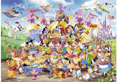 The Disney parade - 1000 pieces