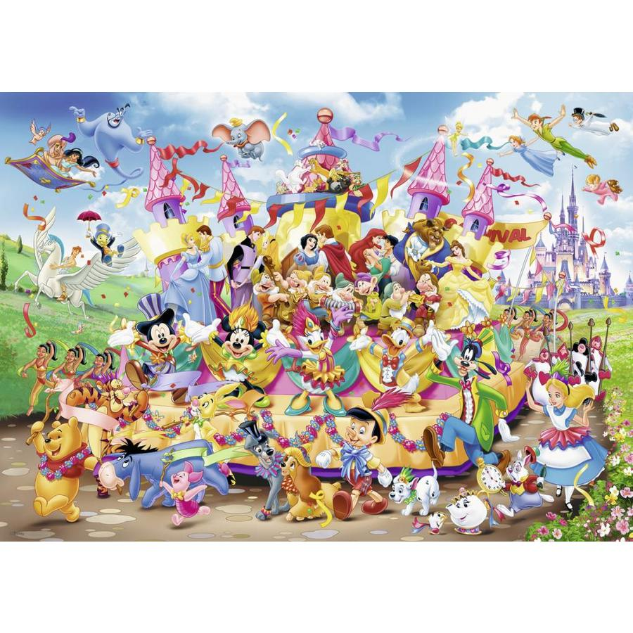 Le défilé Disney - 1000 pièces-1