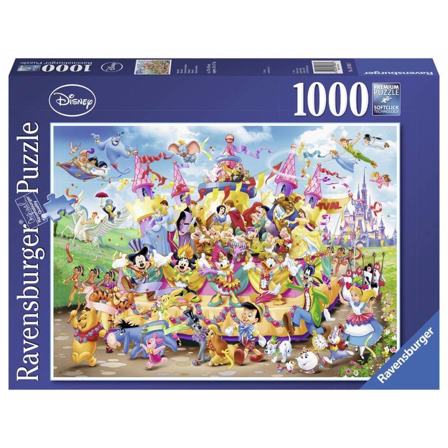 Le défilé Disney - 1000 pièces-2