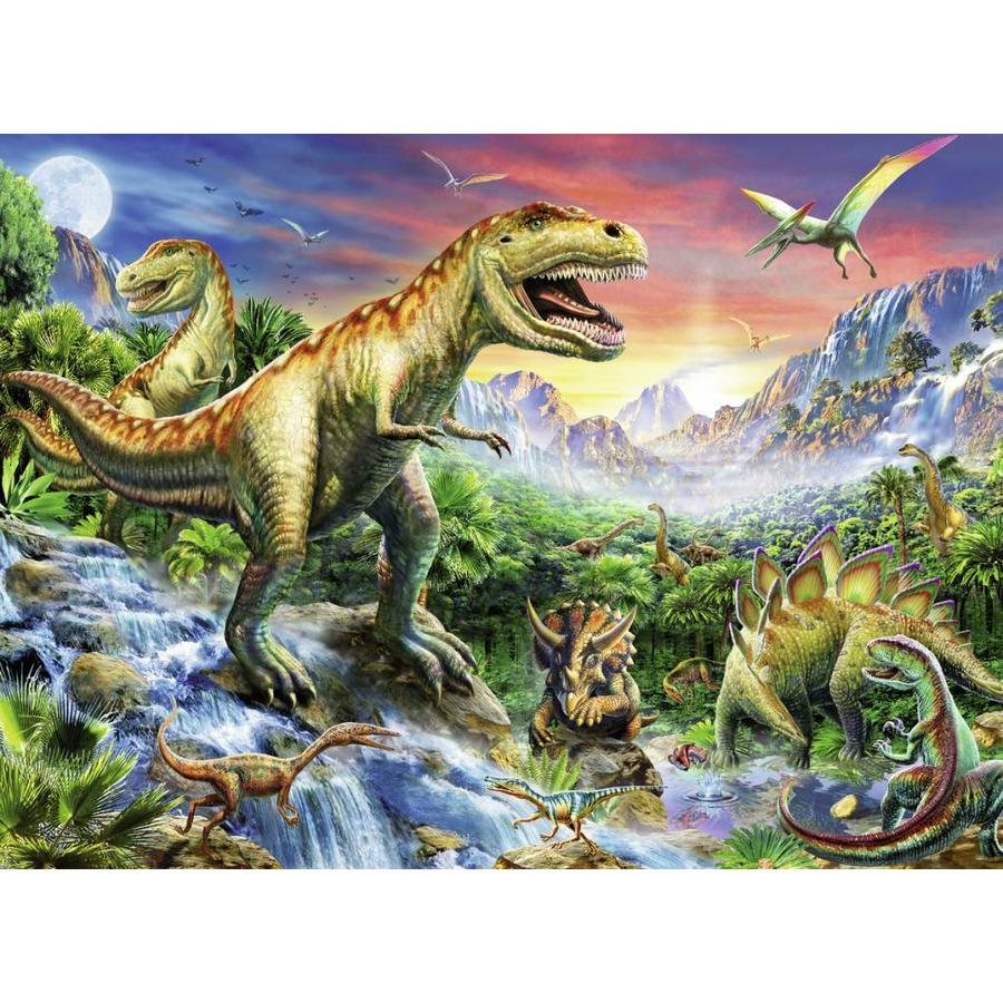 Bij de dinosaurussen - 100 stukjes XXL-1